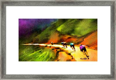 Le Tour De France 02 Framed Print