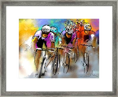 Le Tour De France 03 Framed Print
