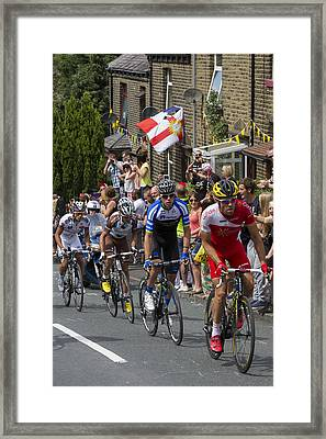 Le Tour De France 2014 - 8 Framed Print