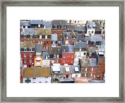 Le Treport 02 Framed Print by Giorgio Darrigo