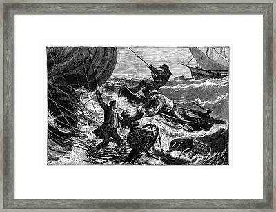 'le Tricolore' Balloon Rescue Framed Print by Science Photo Library