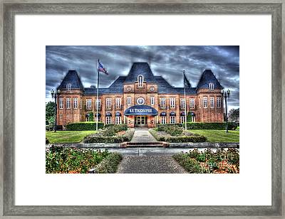 Framed Print featuring the photograph Le Triomphe by Cecil Fuselier