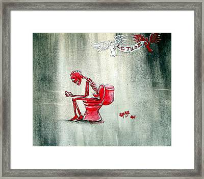 Le Tub II Framed Print