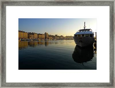 Le Vieux Port Marseille Framed Print