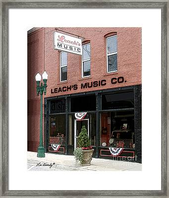 Leach's Music Framed Print