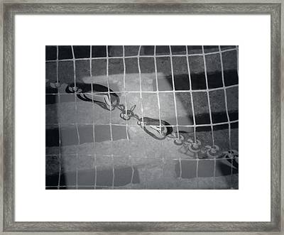 Lead Mine Reflections Framed Print