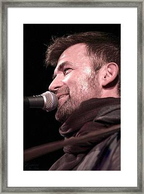Lead Singer - The Verve Pipe Framed Print by Kimberly Sokol