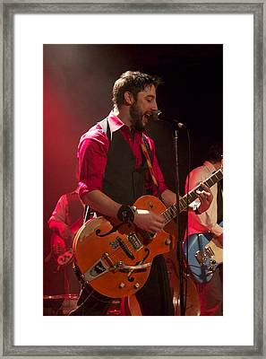 Leader Band Marco Framed Print by Jocelyne Choquette