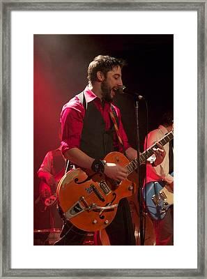 Leader Band Marco Framed Print by Jocelyne Choquette