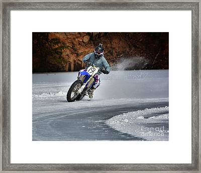 Leader O' Da Pack Framed Print