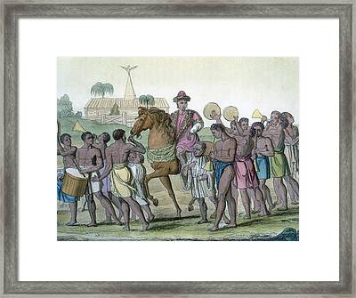 Leader On Horseback, 1812-13 Framed Print