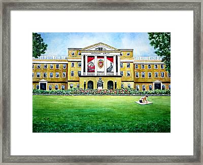 Leaders Past And Future Framed Print
