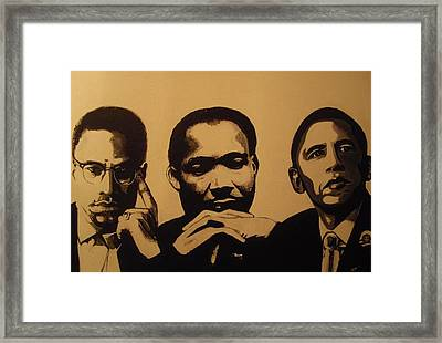Leaders Framed Print