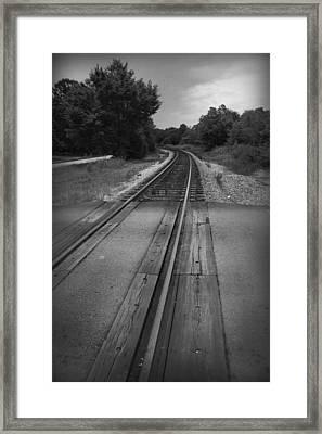 Leading Away Framed Print by Kelly Hazel