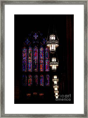 Leading Light Framed Print by Emily Kay