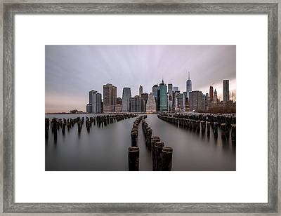 Leading Lines Framed Print