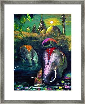 Leading The Way Framed Print