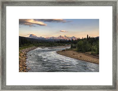 Leading To Sofa Framed Print by Mark Kiver