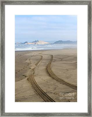Leading To The Cape Framed Print by Mike Dawson