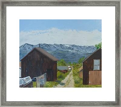 Leadville 2 Framed Print by John Terry