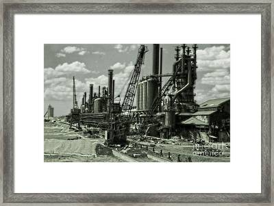 Leadville Factory Framed Print by Gregory Dyer