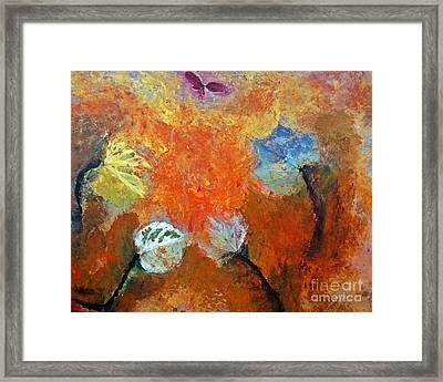 Leaf It To Mother Nature Framed Print