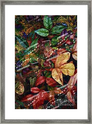 Leaf Motif Framed Print