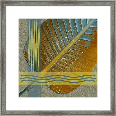 Leaf Study I Framed Print by Ben and Raisa Gertsberg