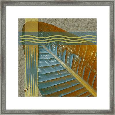 Leaf Study II Framed Print by Ben and Raisa Gertsberg