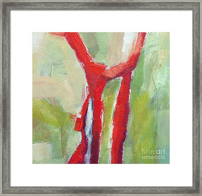 Leafless I Framed Print by Virginia Dauth
