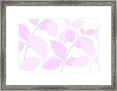Faded Spring Framed Print by Chastity Hoff