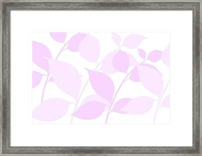 Faded Spring Framed Print
