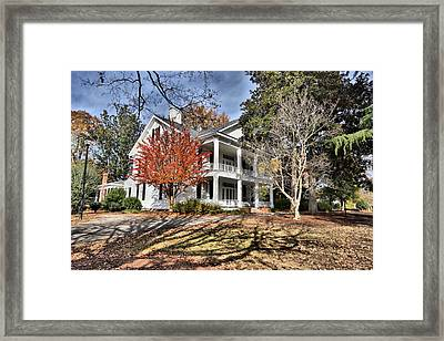 Leak Wall Home Framed Print