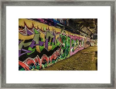 Leake Street London Framed Print