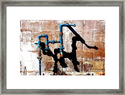 Framed Print featuring the photograph Leaky Faucet II by Christiane Hellner-OBrien