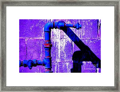 Framed Print featuring the photograph Leaky Faucet IIi by Christiane Hellner-OBrien