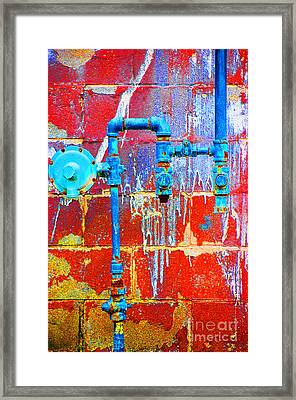 Leaky Faucet Framed Print