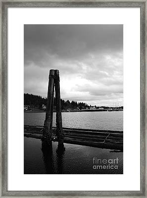 Lean On Me Framed Print by Alison Tomich