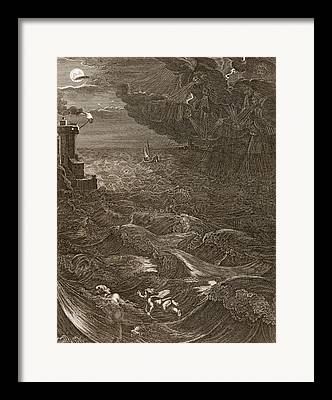 Leander Framed Prints