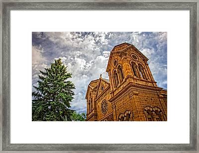 Leaning Toward Heaven Framed Print
