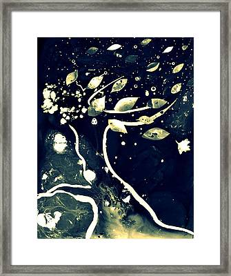 Leaning Tree II Framed Print
