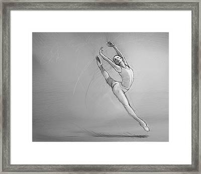 Leap Framed Print