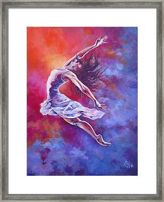 Leap Of Faith Framed Print by Tamer and Cindy Elsharouni