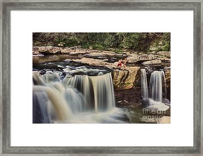 Leap Of Faith Framed Print by Dan Friend