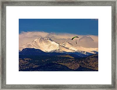 Leap Of Faith Framed Print by James BO  Insogna