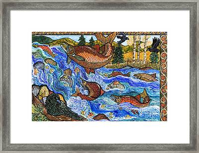 Leap Of Faith Framed Print by Melissa Cole