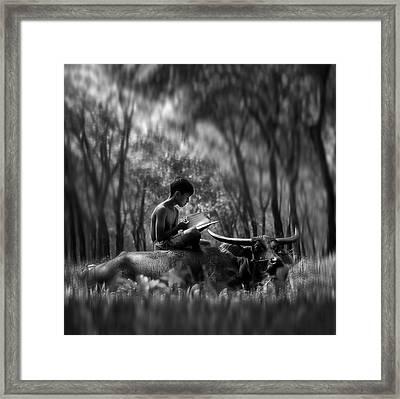 Learn Spirit Framed Print