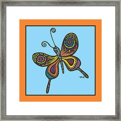 Learning To Fly Framed Print by Tanielle Childers