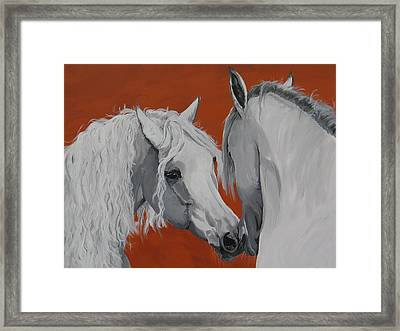 Learn To Know You Framed Print by Janina  Suuronen