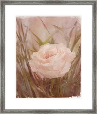 Learn To Love - Vintage Art Framed Print by Jordan Blackstone